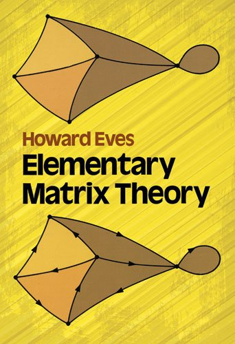 9780486639468: Elementary Matrix Theory (Dover Books on Mathematics)