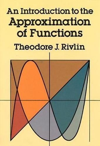 9780486640693: An Introduction to the Approximation of Functions (Dover Books on Mathematics)