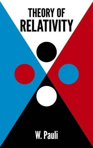 Theory of Relativity - Pauli, Wolfgang