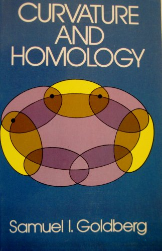 9780486643144: Curvature and Homology (Dover Pictorial Archives)