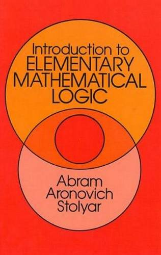 9780486645612: Introduction to Elementary Mathematical Logic