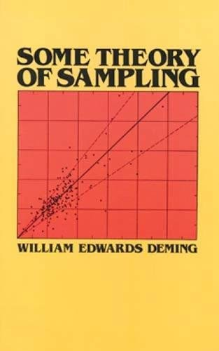 9780486646848: Some Theories of Sampling (Dover Books on Mathematics)