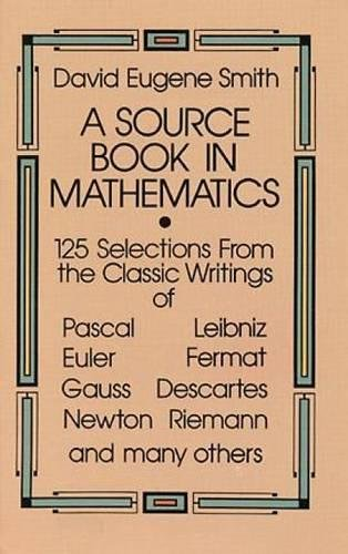 9780486646909: A Source Book in Mathematics (Dover Books on Mathematics)