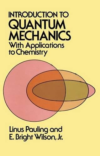 9780486648712: Introduction to Quantum Mechanics with Applications to Chemistry (Dover Books on Physics)