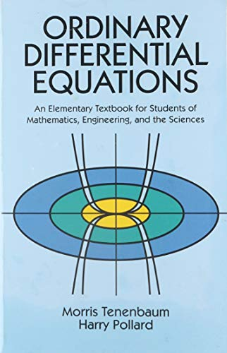 9780486649405: Ordinary Differential Equations (Dover Books on Mathematics)