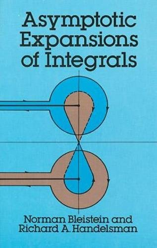 9780486650821: Asymptotic Expansions of Integrals (Dover Books on Mathematics)