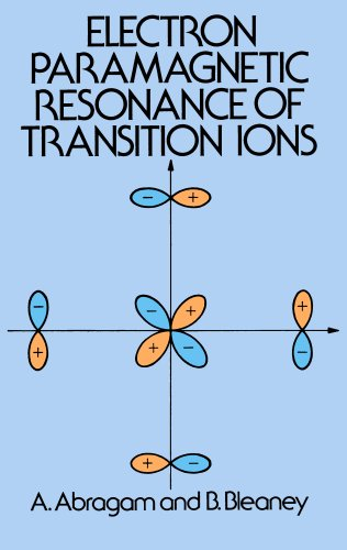 9780486651064: Electron Paramagnetic Resonance of Transition Ions