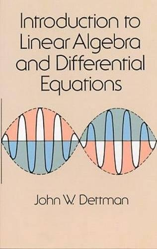 9780486651910: Introduction to Linear Algebra and Differential Equations (Dover Books on Mathematics)