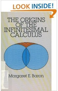9780486653716: The Origins of the Infinitesimal Calculus (Dover Classics of Science and Mathematics)