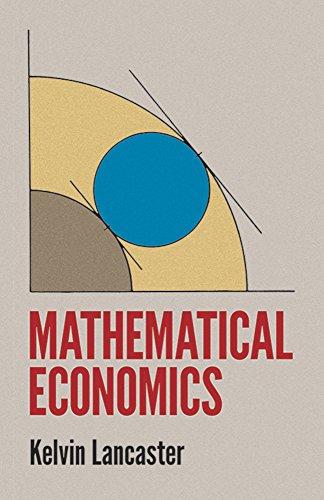 Mathematical Economics (Dover Books on Computer Science): Lancaster, Kelvin