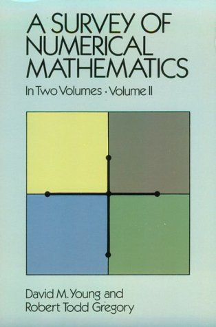 9780486656922: A Survey of Numerical Mathematics, Vol. 2