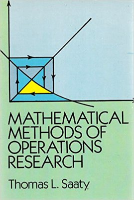 9780486657035: Mathematical Methods of Operations Research