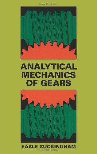 9780486657127: Analytical Mechanics of Gears