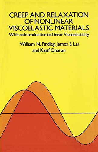 9780486660165: Creep and Relaxation of Nonlinear Viscoelastic Materials: With an Introduction to Linear Viscoelasticity