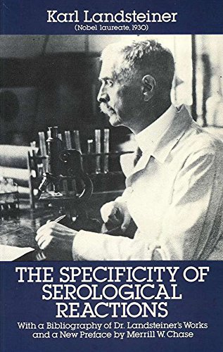 9780486662039: The Specificity of Serological Reactions (Dover Books on Biology)