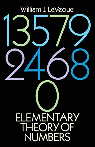 9780486663487: Elementary Theory of Numbers (Dover Books on Mathematics)