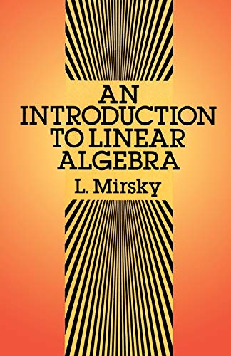 9780486664347: An Introduction to Linear Algebra (Dover Books on Mathematics)