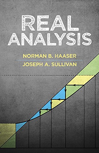 Real Analysis: Norman B. Haaser,
