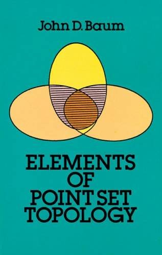 Elements of Point Set Topology.: Baum, John