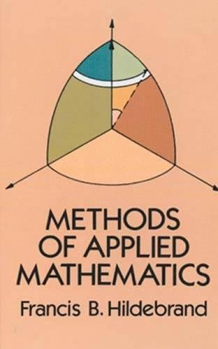 Methods of Applied Mathematics: Francis B. Hildebrand