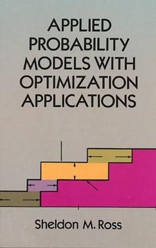 9780486673141: Applied Probability Models with Optimization Applications (Dover Books on Mathematics)