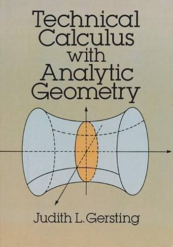 9780486673431: Technical Calculus with Analytic Geometry (Dover Books on Mathematics)