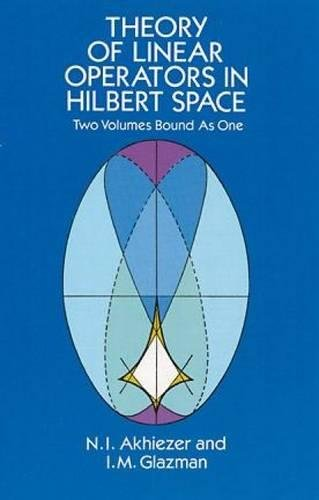 9780486677484: Theory of Linear Operators in Hilbert Space (Dover Books on Mathematics)