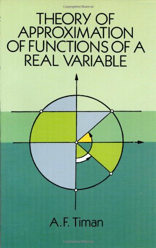 9780486678306: Theory of Approximation of Functions of a Real Variable