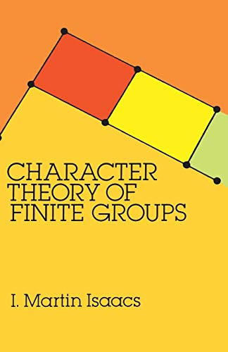 9780486680149: Character Theory of Finite Groups (Dover Books on Mathematics)