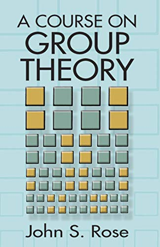 9780486681948: A Course on Group Theory (Dover Books on Mathematics)