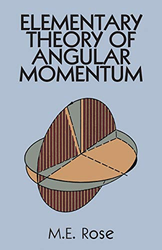 9780486684802: Elementary Theory of Angular Momentum (Dover Books on Physics)