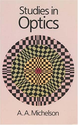 9780486687001: Studies in Optics