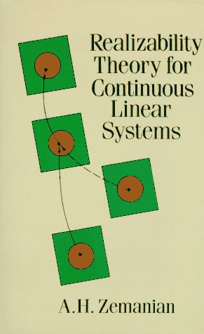 9780486688237: Realizability Theory for Continuous Linear Systems (Dover Books on Mathematics)