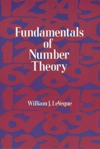 9780486689067: Fundamentals of Number Theory (Dover Books on Mathematics)