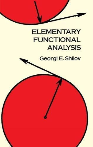 9780486689234: Elementary Functional Analysis (Dover Books on Mathematics)