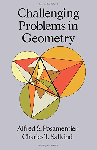 9780486691541: Challenging Problems in Geometry