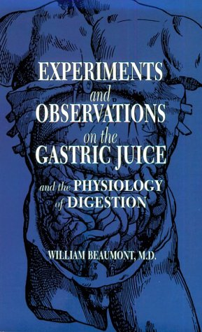 9780486692135: Experiments and Observations on the Gastric Juice: And the Physiology of Digestion