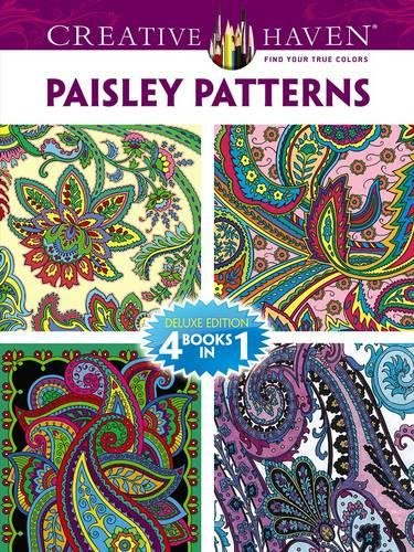 9780486779331: Paisley Patterns Coloring Book: 4 Books in 1