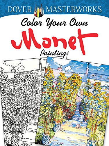 9780486779454: Dover Masterworks: Color Your Own Monet Paintings