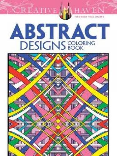 9780486779560: Creative Haven Abstract Designs Coloring Book (Adult Coloring)