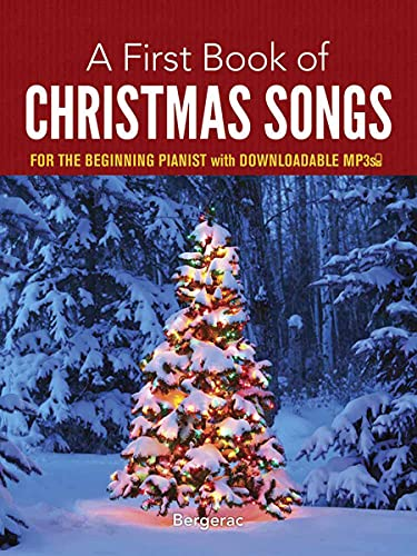 9780486780078: A First Book of Christmas Songs for the Beginning Pianist: with Downloadable MP3s