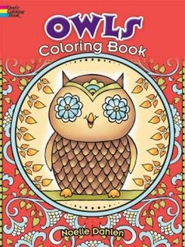 9780486780337: Owls Coloring Book (Dover Coloring Books)
