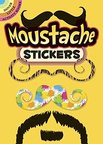 9780486780368: Moustache Stickers