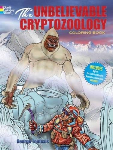 9780486780535: The Unbelievable Cryptozoology Coloring Book (Dover Coloring Books for Children)
