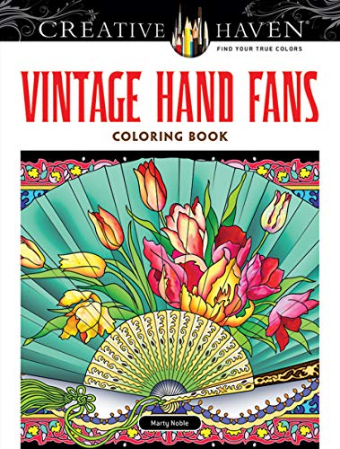 9780486780627: Creative Haven Vintage Hand Fans Coloring Book (Adult Coloring)