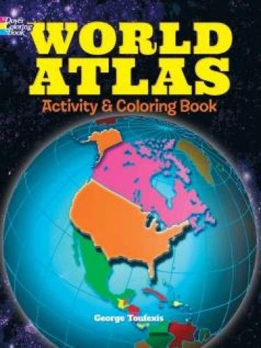 9780486781211: World Atlas Activity and Coloring Book (Dover Coloring Books for Children)