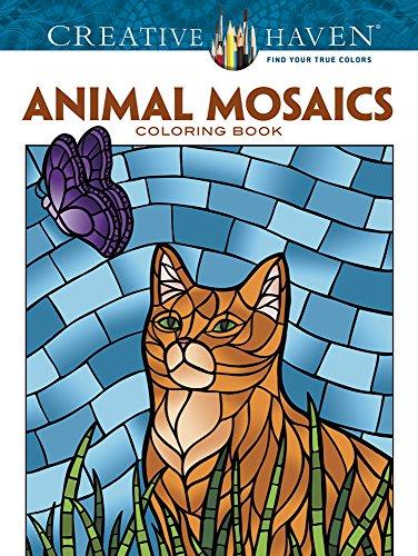9780486781778 Creative Haven Animal Mosaics Coloring Book Adult