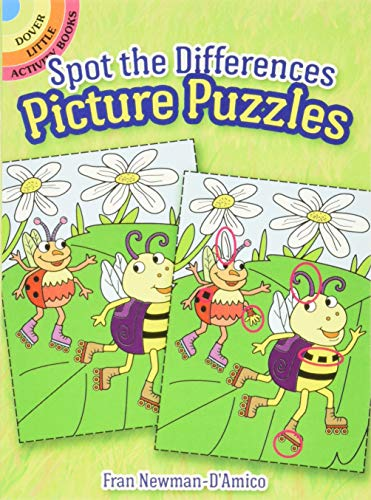 9780486781822: Spot the Differences Picture Puzzles (Dover Little Activity Books)