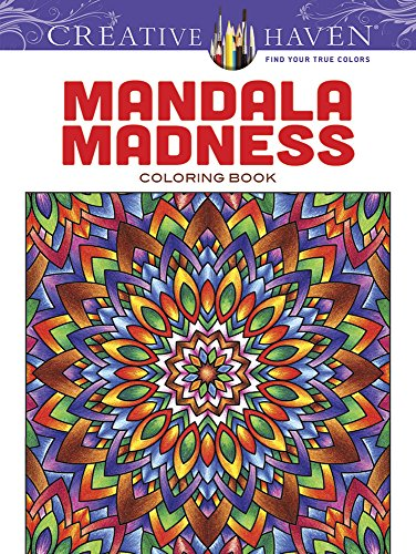 9780486781983: Mandala Madness Coloring Book