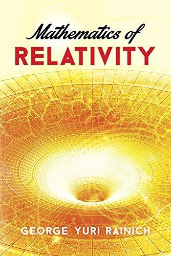 9780486783253: Mathematics of Relativity (Dover Books on Physics)